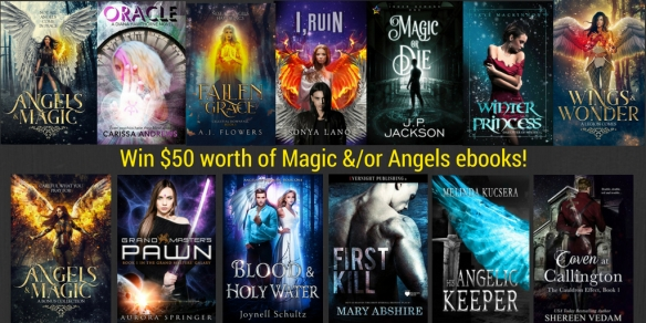 Win These Books Featuring Angels and_or Magic! (2)