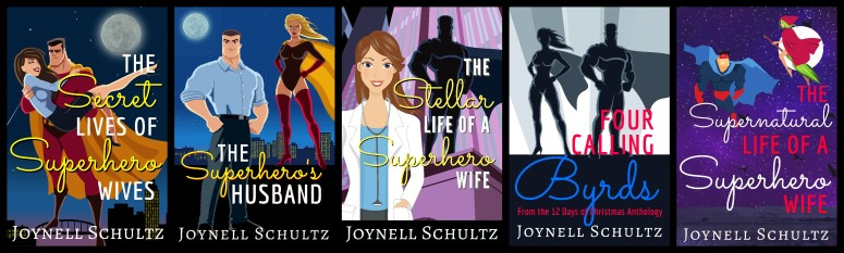 Superhero Wives Series