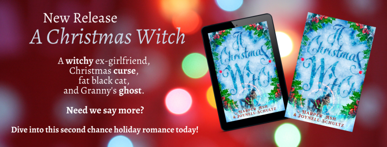 A witchy ex-girlfriend, Christmas curse, fat black cat, and Granny's ghost. Need we say more_ Dive into this second chance holiday romance today!